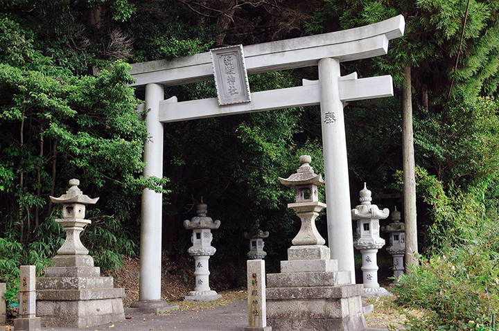 神殿神社鳥居